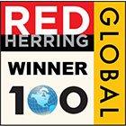 Red Herring Global 100 Winner Logo
