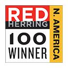 Red Herring North America 100 Winner Logo