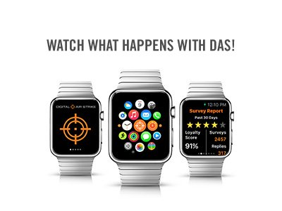 Digital Air Strike™ Launches Its Industry-First Mobile App for the Apple® Watch