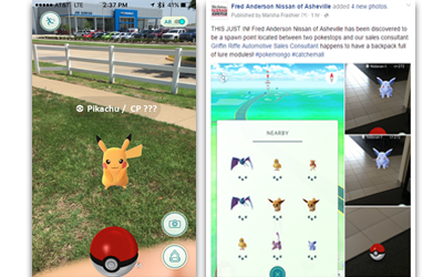 Pokemon GO Gets People to Your Business