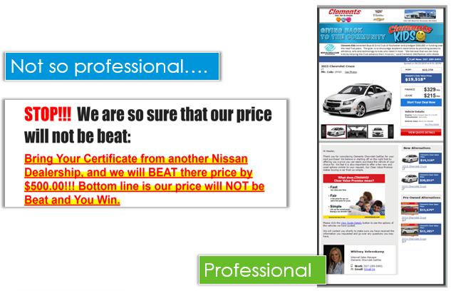 Professional Sales Quote