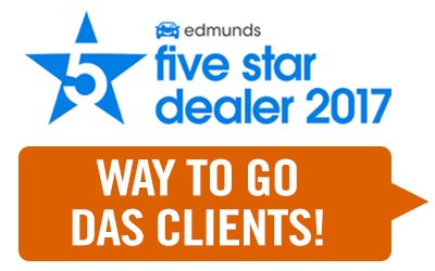 Edmunds Five-Star Dealer