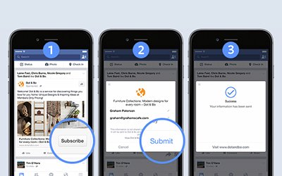 Updates to Facebook Lead Ads