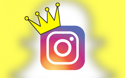 Instagram Dethrones the King in a Snap
