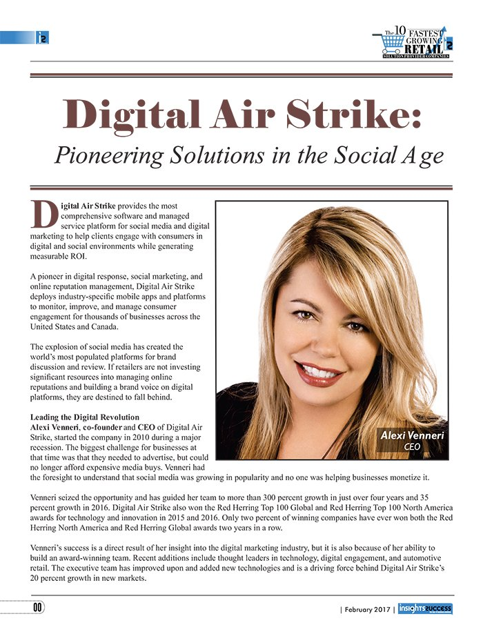 Digital Air Strike™ Design