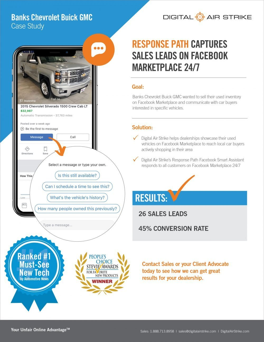 Case Study on Response Path Capturing Leads