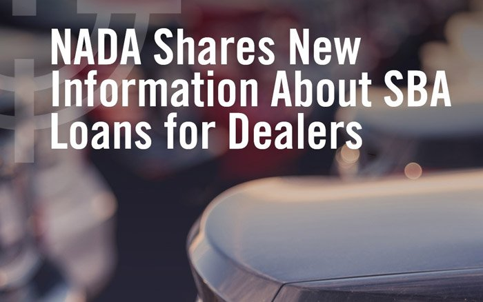 NADA Shares New Information About SBA Loans for Dealers