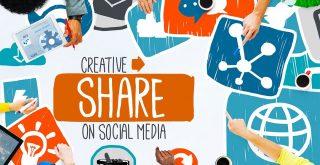 Create and Share on Social Media